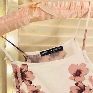 Brandy Melville Floral Dress!